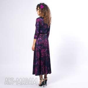 nietuzinkowe sukienki brigitte - magic rose