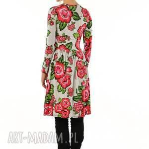 sukienki bugumiła - szara sukienka