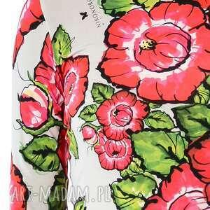 kolorowe sukienki bugumiła - szara sukienka
