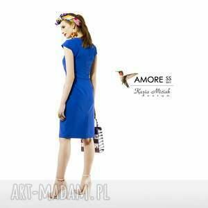 hand-made sukienki sukienka chabrowa amore