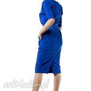 sukienki sukienka chabrowa mono