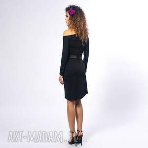 Cindy - asymetryczna sukienka drapowana