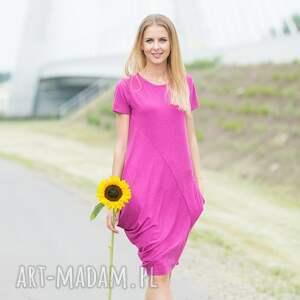 sukienki creases pink