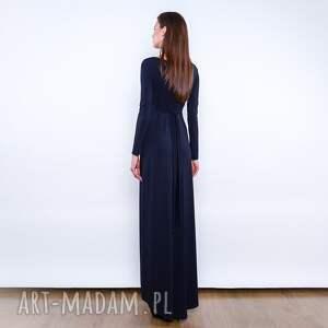 sukienki długa cristina maxi black