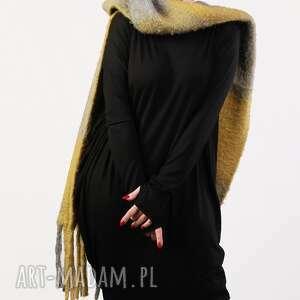 niebieskie sukienki elegancka czarna nowoczesna sukienka wizytowa
