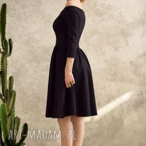 Kasia Miciak design Czarna sukienka hiszpanka