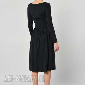 sukienki sukienka czarny bez -