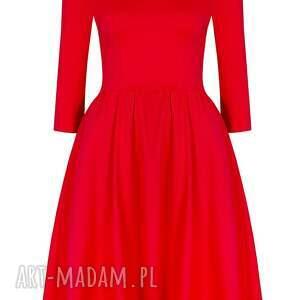 sukienki czerwona sukienka hiszpanka