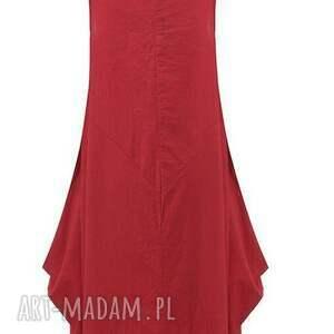 kobieca sukienki czerwona sukienka oversize
