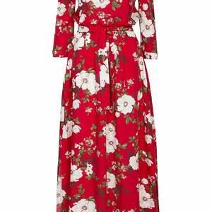 kolorowe sukienki sukienka czerwona w kwiaty