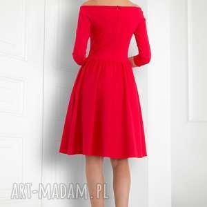 nietuzinkowe sukienki sukienka czerwona hiszpanka