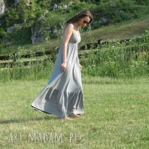 sukienki dzianina długa dzianinowa sukienka