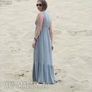 sukienka sukienki 54dł-długa dzianinowa