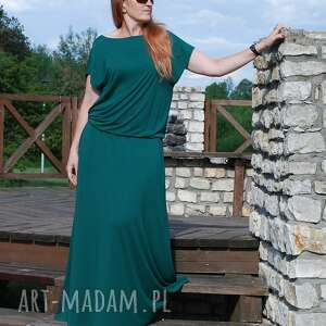 maxi sukienki długa dzianinowa sukienka