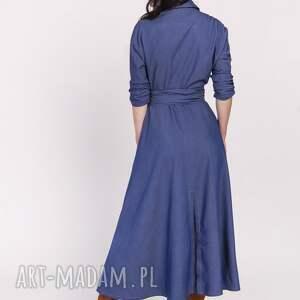 sukienki sukienka długa, suk173 jeans