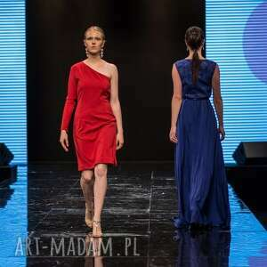 oryginalne sukienki moda donna - sukienka maxi 38