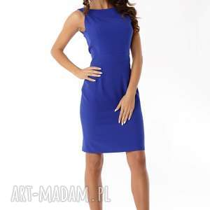 sukienki elegancka sukienka dopasowana odcięta w pasie
