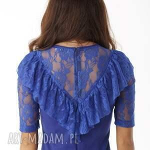 koktajlowa-sukienka sukienki dopasowana sukienka z koronkową