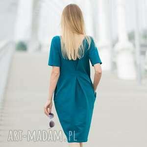 niekonwencjonalne sukienki double fold