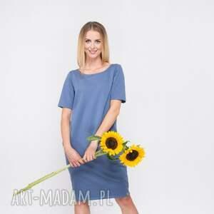 awangardowe sukienki double fold
