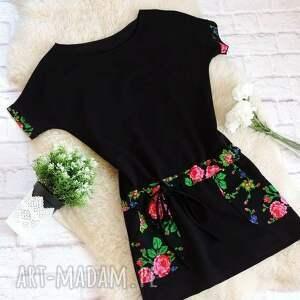 sukienki sukienka dresowa w stylu folk