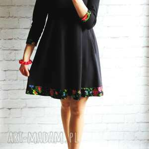 dresowa sukienki trapezowa sukienka