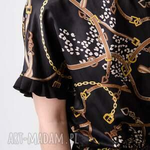 gustowne sukienki tuba drukowana satynowa sukienka xxl