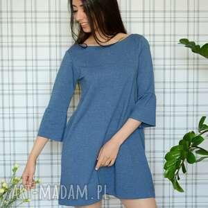 gustowne sukienki dzianina sukienka hippi s/m/l/xl