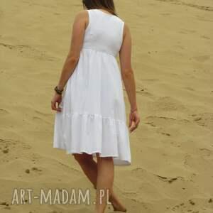 szare sukienki sukienka dzianinowa z falbaną