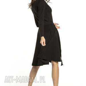 modne sukienki elegancka rozkloszowana sukienka
