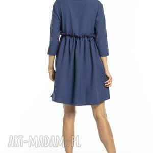 trendy sukienki elegancka sukienka marszczona pod