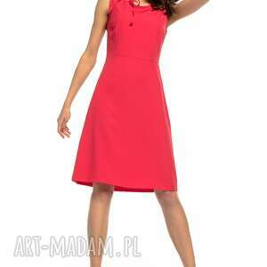 hand made sukienki elegancka sukienka taliowana