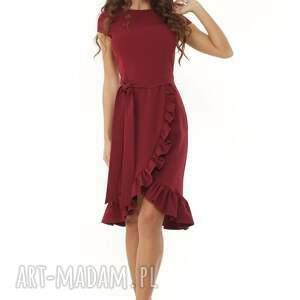 trendy sukienki elegancka sukienka falbaną