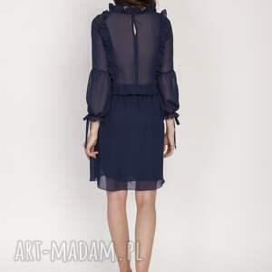 urokliwe sukienki elegancka sukienka z ozdobnymi