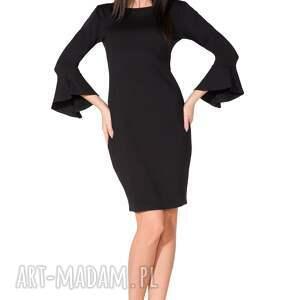 ręcznie wykonane sukienki elegancka sukienka z ozdobną
