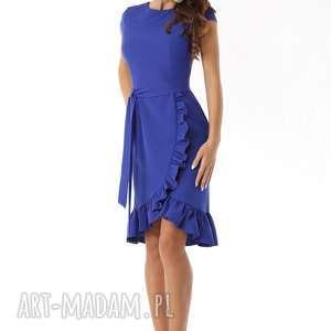 sukienki polski producent elegancka sukienka falbaną
