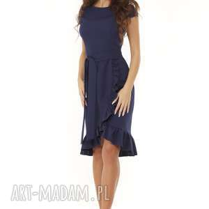 sukienki koktajlowa sukienka elegancka falbaną