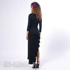 nietuzinkowe sukienki elastyczna elena 2 black night