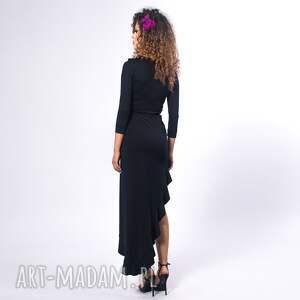 hand made sukienki elastyczna elena 2 black night