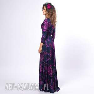 sukienki elastyczna elle - magic rose