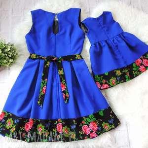 hand made sukienki góralskie góralska sukienka dla mamy i córki