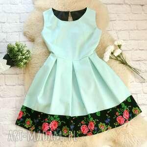 unikatowe sukienki sukienka góralska dla mamy i córki