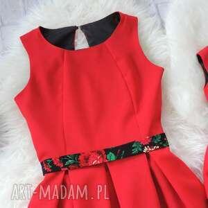 niesztampowe sukienki góralska sukienka dla mamy i córki