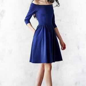 midi sukienki granatowa sukienka hiszpanka