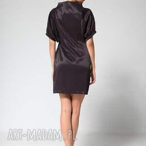 niebanalne sukienki moda gray classic 38