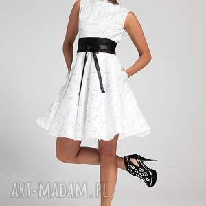 białe sukienki moda grazia - sukienka na zamówienie