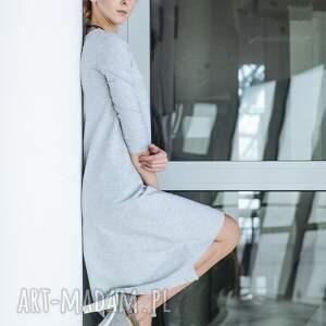 sukienki dresowa grunge sukienka