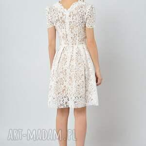 sukienki ślubna gwiazdnica - koronkowa sukienka