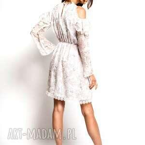 sukienki jedwabna sukienka hana - mała biała