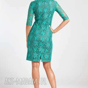szare sukienki ramona - sukienka zielona